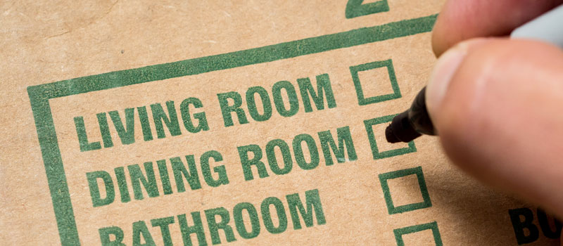 checklist moving house